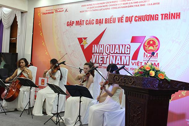 Biểu diễn văn nghệ tại hội nghị