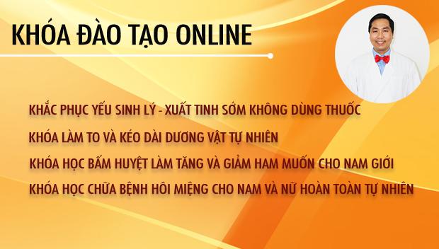 Các khóa đào tạo online của chuyên gia Nguyễn Bá Toàn