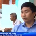 Nguyễn Bá Toàn trên chương trình Chào Buổi sáng