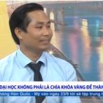 """Nguyễn Bá Toàn – khách mời của chương trình cuộc sống thường ngày VTV1 – """"Định hướng nghề nghiệp"""""""