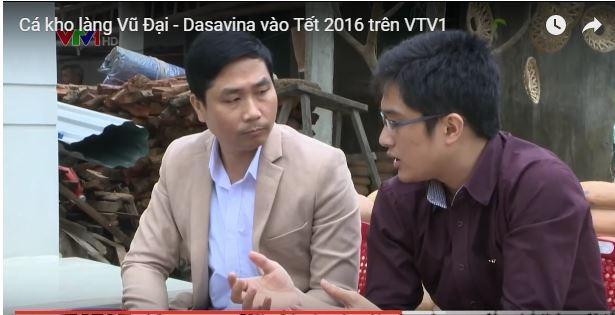 Nguyễn Bá Toàn trong chương trình VTV1 buổi sáng đầu tiên năm 2016